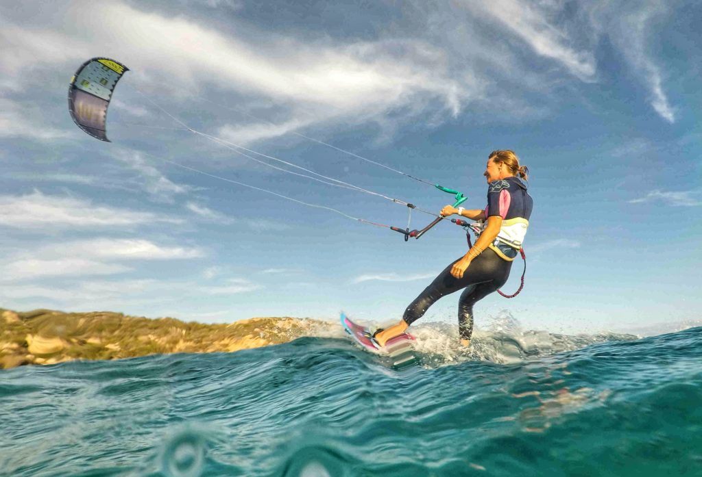 Kitesurfing in La Maddalena