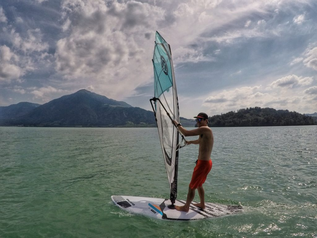 windSUP on Lake Zug