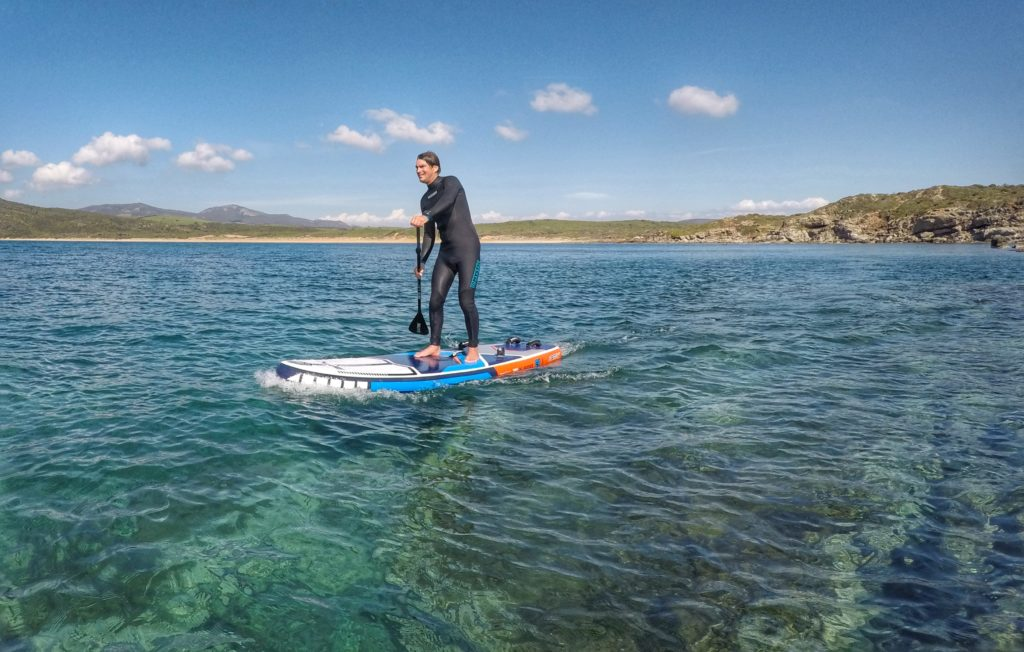 Stand Up Paddle (SUP) on the STX 280 Windsurf