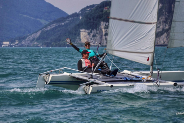 Dart 18 Sailing on the Urnersee