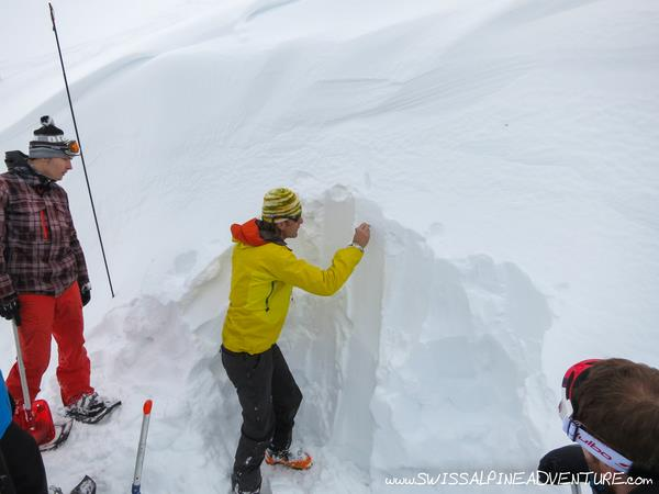 Safety training is an integral part of mountain sports